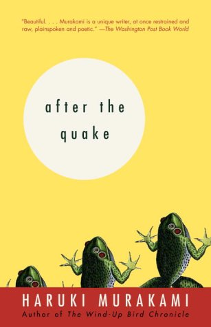 Cover of 'after the quake'