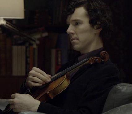 Sherlock violin game of thrones