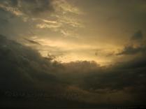 Pangandaran Beach- the sky