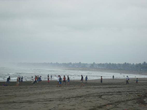 Pangandaran Beach - in the morning