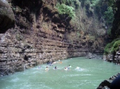 Green canyon - We swim here