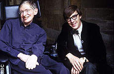 Cumberbatch and Hawking