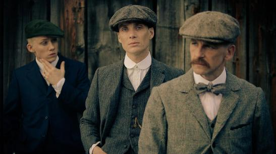 Cillian at Peaky Blinders