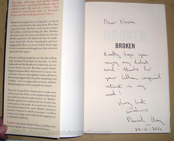 Broken (From Daniel)