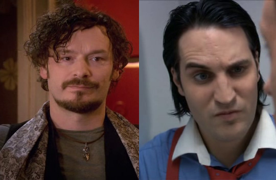 Julian as Jackson and Noel as Marcus (guest in How not to live your life)