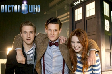 Doctor, Amy and Rosry
