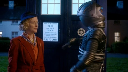 The Doctor, The Widow, The Wardrobe