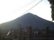 Mount Cikurai seen from Mount Papandayan