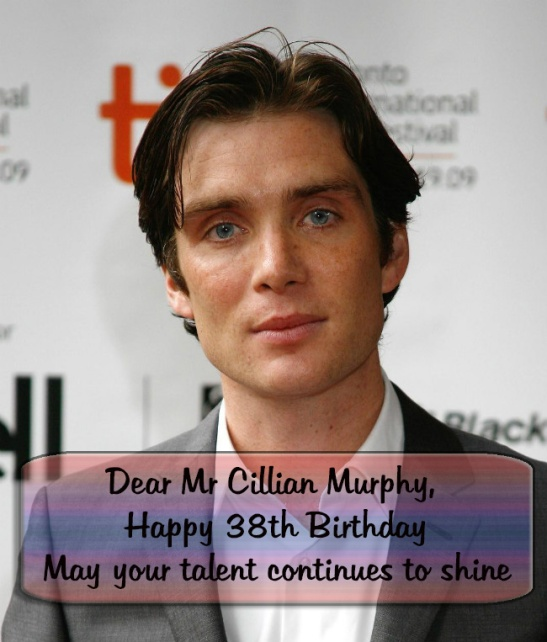 38th birthday Cillian