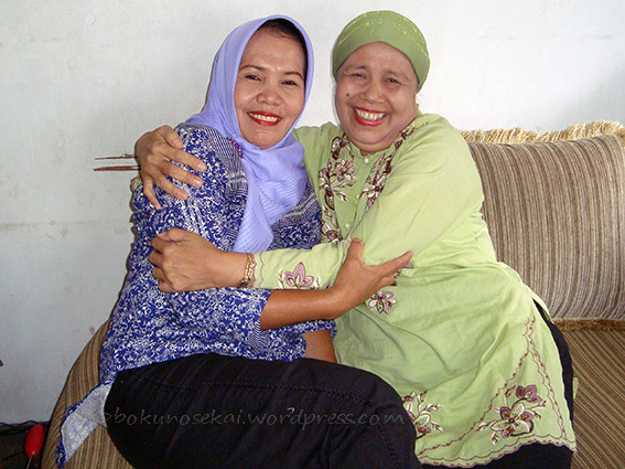 My mom and my aunty