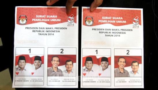 surat-suara-pilpres-2014