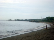 The beach we were about to leave to head to Gili Trawanagan