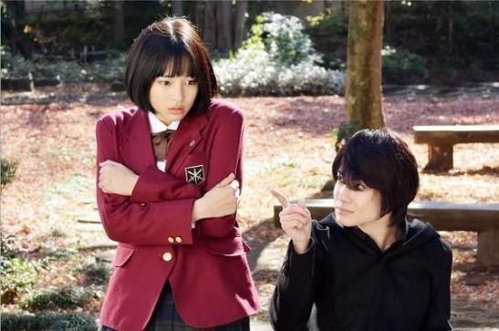 Tsubame (Hirose Suzu) and Tsuzukui (Kamiki Ryunosuke)