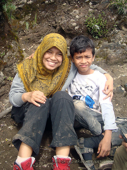 The youngest hiker I have ever met :) . He is old enough to be my son ;)