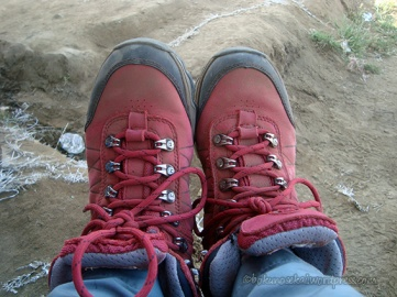 My clean shoes