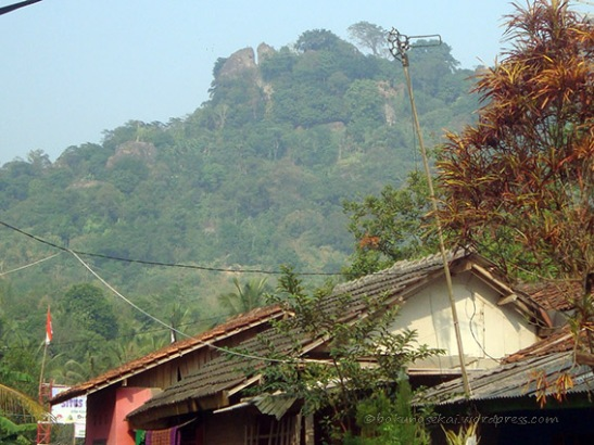 The view of Mount Munara